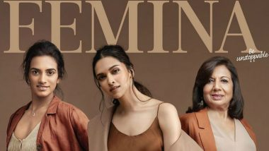 Terrific Trio Deepika Padukone, PV Sindhu and Kiran Mazumdar Come Together to Grace Femina's Cover