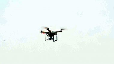 Drone Sighting in Punjab: Another Suspected Pakistani Drone Enters Indian Airspace in The Northern State, Returns Unharmed