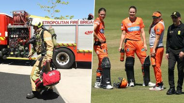 Women's Big Bash League 2019-20: Fire Alarm Interrupts Melbourne Renegades vs Perth Scorchers Match