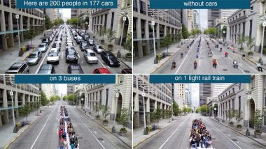 200 People for 177 Cars? Old Tweet on Cities Without Vehicles Goes Viral Again on #FridaysForFuture