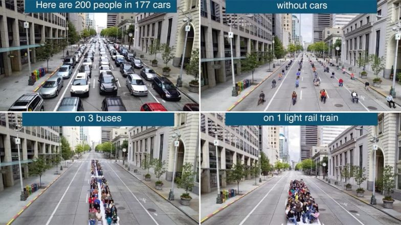200 People For 177 Cars? Old Tweet On Cities Without