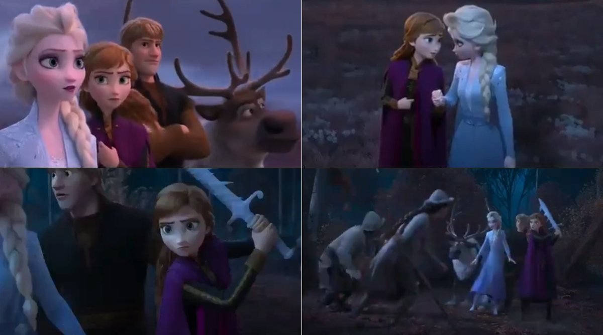 Frozen 2: Priyanka Chopra and Parineeti Chopra Become Elsa and Anna For The Hindi Version of This Animated Film (Watch Video)