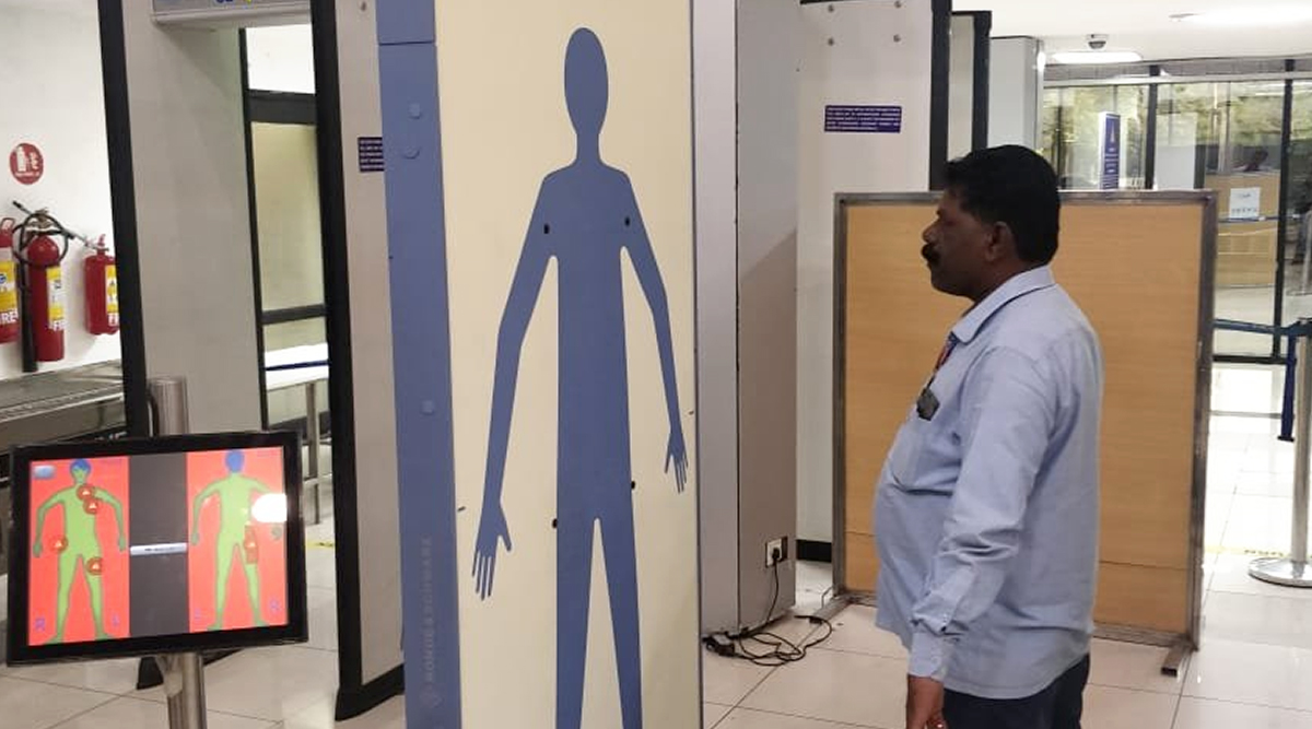 Pune Airport Gets First Full-Body Scanner in India, See Pics