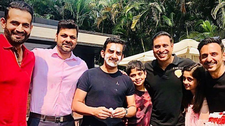 Gautam Gambhir Birthday Bash Pics: Irfan Pathan, VVS Laxman, RP Singh and Jatin Sapru Celebrate Gauti's 38th B-Day in Style!