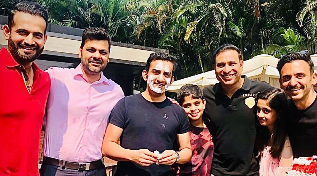 Gautam Gambhir Birthday Bash Pics: Irfan Pathan, VVS Laxman, RP Singh and Jatin Sapru Celebrate Gauti's 38th B-Day in Style!