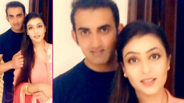 Gautam Gambhir's Karwa Chauth 2019 Wish for Wife Natasha Should Be Every Husband's Wish for Their Better Half (See Heart-Winning Post)