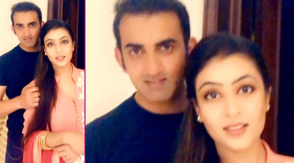 Gautam Gambhir's Karwa Chauth 2019 Wish for Wife Natasha Should Be Every Husband's Wish for Their Better Half (See Heart-Winning Post)