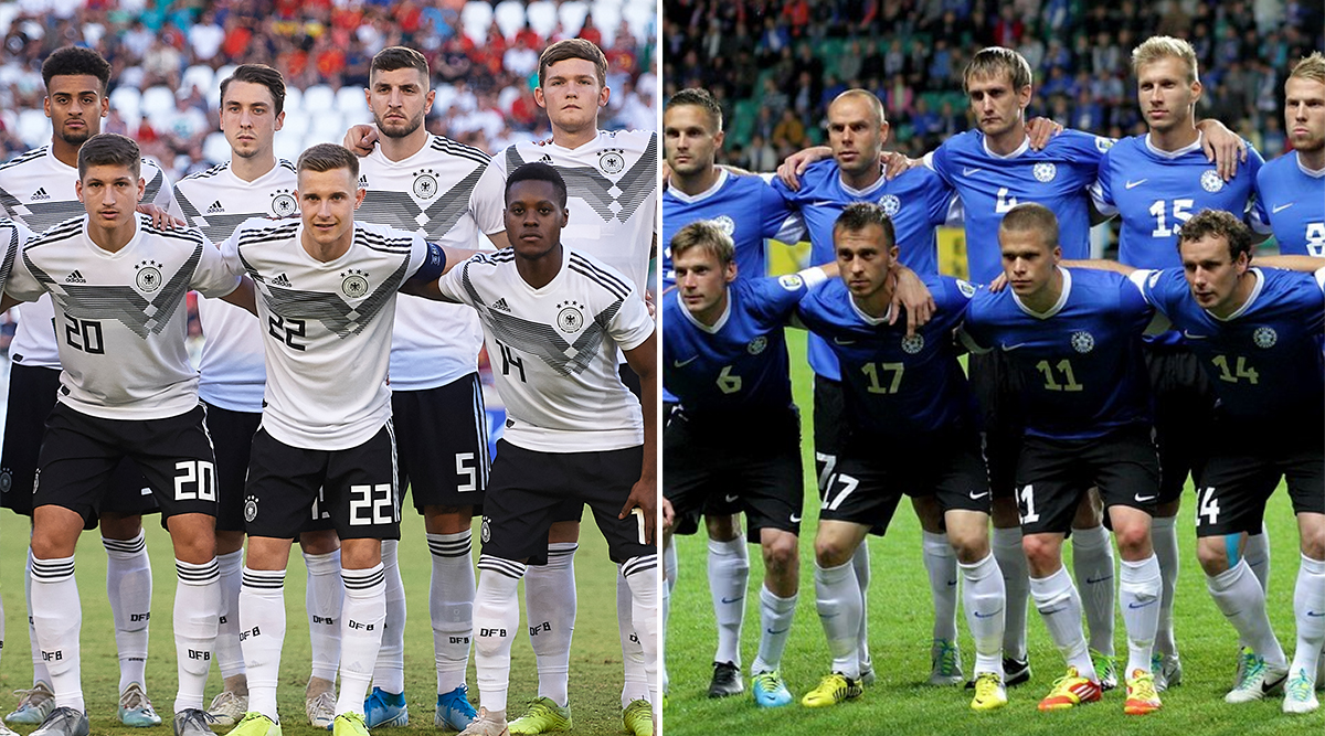 Estonia vs Germany, UEFA EURO Qualifiers 2020 Live Streaming Online & Match Time in IST: How to Get Live Telecast of EST vs GER on TV & Football Score Updates in India
