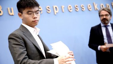 Joshua Wong, Hong Kong's Pro-Democracy Protester, Arrested  For 'Unlawful Assembly'