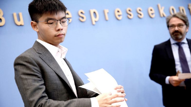 Hong Kong: Activist Joshua Wong's Nomination For November Poll Rejected By Election Officer
