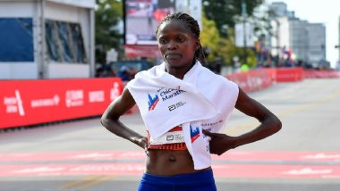 Brigid Kosgei of Kenya Breaks World Record at Chicago Marathon 2019