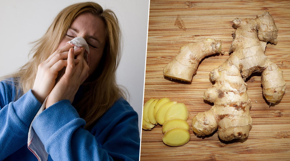 Home Remedy Of The Week: Ginger For Chest Congestion, How This Spice Can Eliminate Excessive Mucus From Lungs (Watch Videos)