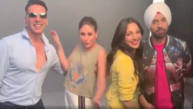 Kareena Kapoor and Good Newzz Stars Take Up Akshay Kumar's #TheBalaChallenge From Housefull 4 (Watch Video)