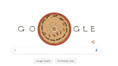 Joseph Antoine Ferdinand Plateau 218th Birth Anniversary Google Doodle: Belgian Physicist Who Invented 'Phénakistiscope' Honoured by Search Engine Giant!