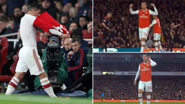 Granit Xhaka Taunts and Abuses Booing Arsenal Fans in Gunners' 2–2 Draw Against Crystal Palace at Home in 2019–20 Premier League (Watch Video)