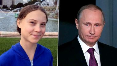Greta Thunberg Takes a Swipe at Vladimir Putin By Updating Her Twitter Bio And It's a Total WIN