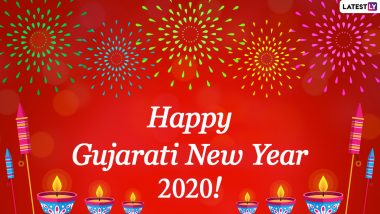 happy gujarati new year 2020 greetings sal mubarak wishes whatsapp stickers nutan varshabhinandan photos hike gif images messages sms and quotes to send on start of vikram samvat 2077 latestly latestly