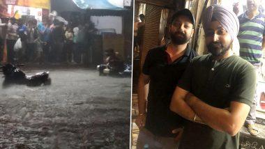 Gurugram Rains: Three Sikh Men Rescue Couple From Car Stuck on Waterlogged Street in Mahipalpur; Social Media Hails the Heroes