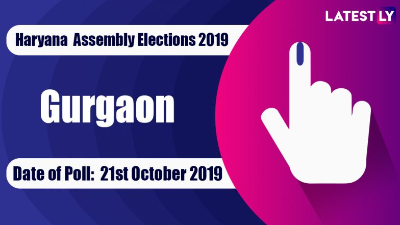 Gurgaon Vidhan Sabha Constituency in Haryana: Sitting MLA, Candidates For Assembly Elections 2019, Results And Winners