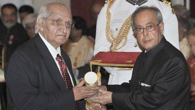 Dr HL Trivedi Dies: Veteran Indian Nephrologist and Padma Awardee Passes Away in Ahmedabad; PM Narendra Modi Pays Tribute