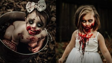 Halloween 2019 Photoshoot Backfires! Mom Uses Her Children as Zombies, Gets Death Threats After Horrifying Pics Go Viral