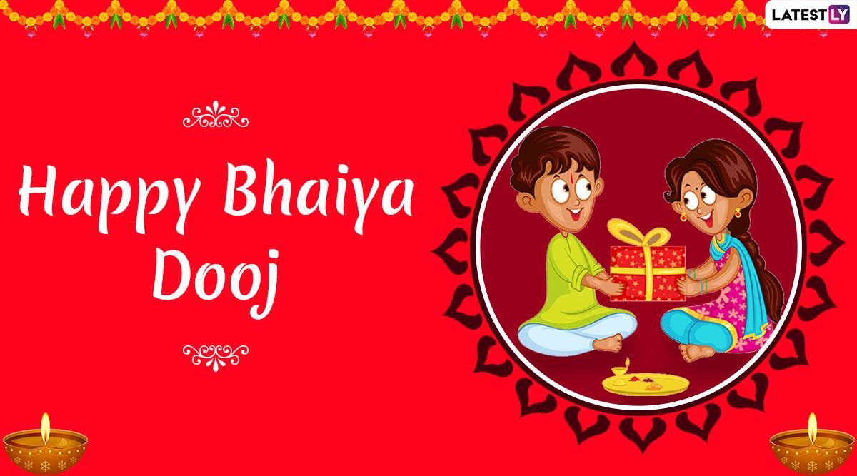 Bhai Dooj 2019 Images & Bhau Beej HD Wallpapers For Free Download Online: Wish Happy Bhai Dooj With WhatsApp Stickers and GIF Greetings