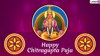 Happy Chitragupta Puja 2019 Images & HD Wallpapers For Free Download Online: Wish With Beautiful WhatsApp Stickers and GIF Greetings