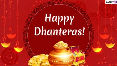 Dhanteras Images & Diwali 2019 Wishes in Advance: WhatsApp Stickers, SMS, Quotes, GIF Messages, Greetings and Status For Deepavali Festival