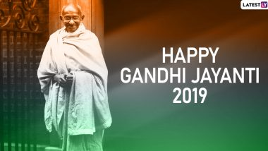Mahatma Gandhi 150th Birth Anniversary: Politicians and Netizens Pay Homage to India's Father of The Nation by Sharing Gandhiji's Quotes, Images and Messages