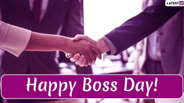 Happy Boss Day 2019 Wishes: Thank You Messages, WhatsApp Stickers, Greetings, GIF Images And Appreciation Quotes to Send to Your Boss