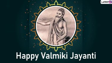 Valmiki Jayanti Images & Quotes HD Wallpapers For Free Download Online: Wish Happy Pargat Diwas 2019 With WhatsApp Stickers and GIF Greetings