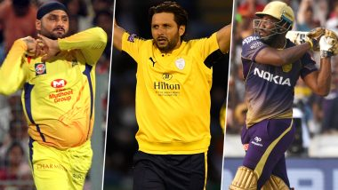 Harbhajan Singh and Shahid Afridi Among the 165 Overseas Players to Feature in The Hundred Draft, AB de Villiers Not to Feature in the 2020 Tournament