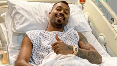 Hardik Pandya Back Surgery Update: India All-Rounder Undergoes Successful Surgery in London; Yuzvendra Chahal, Kuldeep Yadav & Others Wish Him Speedy Recovery (See Instagram Post)