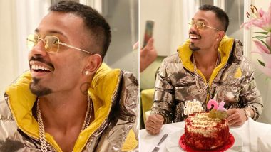 Hardik Pandya Posts Birthday Pic As He Turns 26, Indian Teammates and Fans Wish 'Kung-Fu Pandya' a Speedy Recovery from Back Injury