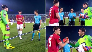 When Manchester United Defender Harry Maguire Forgot He Is the Club Captain and Had a Major Embarrassing Moment (Watch Video)