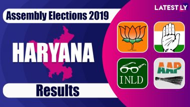 Haryana Assembly Election Results 2019 News Updates: BJP President Amit Shah Addresses Gathering in Delhi After Polls Results in Haryana and Maharashtra