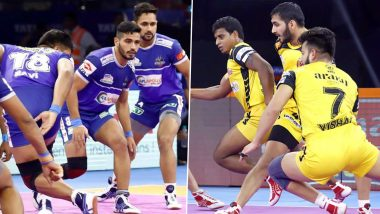 Haryana Steelers Vs Telugu Titans PKL 2019 Match Free Live Streaming and Telecast Details: Watch HAR vs HYD, VIVO Pro Kabaddi League Season 7 Clash Online on Hotstar and Star Sports