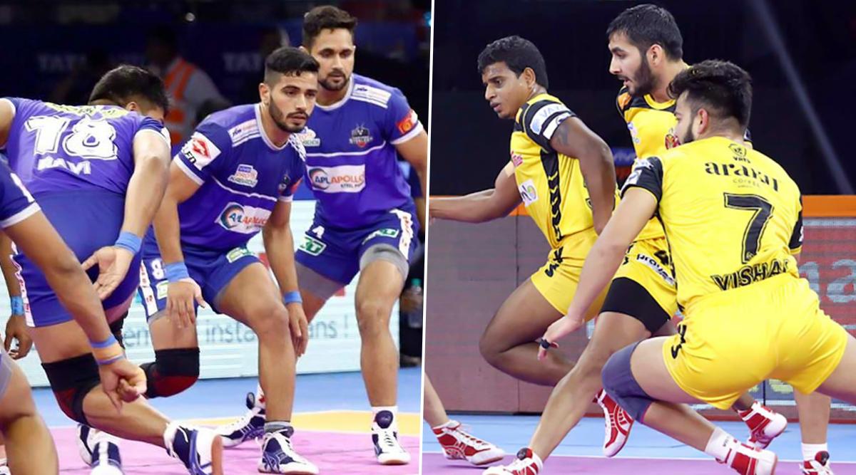 Haryana Steelers Vs Telugu Titans PKL 2019 Match Free Live Streaming and Telecast Details: Watch HAR vs HYD, VIVO Pro Kabaddi League Season 7 Clash Online on Hotstar and Star Sports