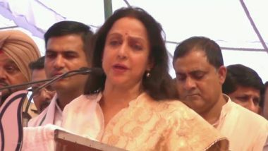 Hema Malini Appeals to People to Vote for BJP in Haryana Assembly Elections 2019, Says 'Don't Even Think of Supporting Any Other Party'