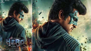 Hero Second Poster: Sivakarthikeyan As the Masked Man Reminds Us of Salman Khan From Kick (View Pic)