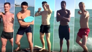 British Olympic Diver Jack Laugher and His Teammates Recreate 'Avengers Assemble' Scene With a Twist (Watch Video)