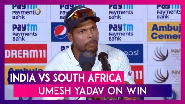 India vs South Africa: India Wins Test Series, Playing With Five Bowlers Good Idea, Says Umesh Yadav