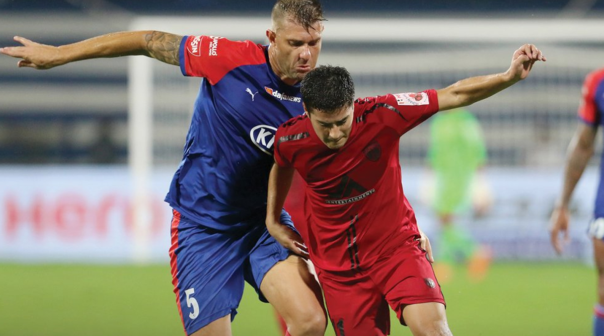 Bengaluru FC and NorthEast United Play Out Goalless Draw in ISL 2019–20 Clash, Sunil Chhetri Misses to Score