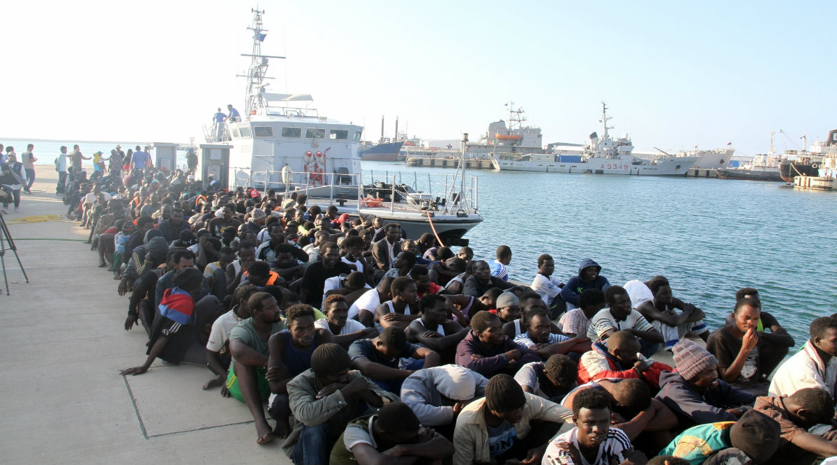 Over 7,036 Illegal Immigrants Rescued by Libyan Navy This Year