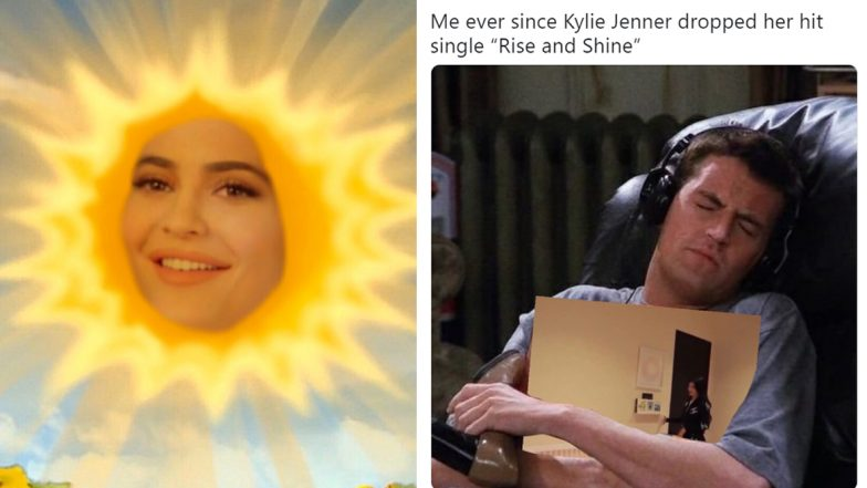 Kylie Jenner's 'Thirst Trap' Pics in Racy Lingerie on Bed ... |Kylie Jenner Insecure Memes