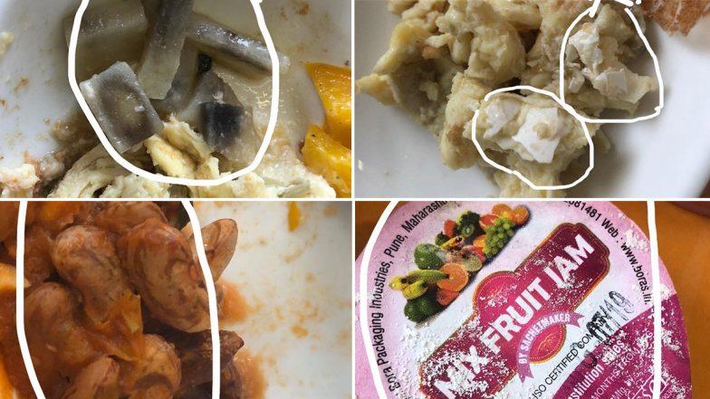 NCP MP Vandana Chavan Complains of Poor Quality Food on Air India Flight