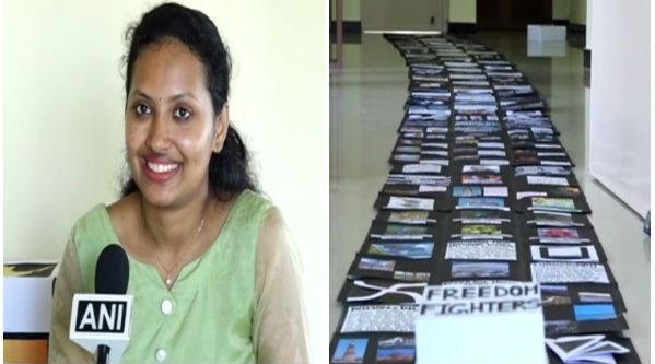 Mangalore Student Apeksha Kottary Enters India Book of Records for Making Explosion Box