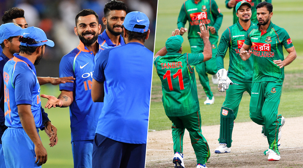 India vs Bangladesh 2019 Schedule for Free PDF Download Online: Full Timetable of IND vs BAN Fixtures With Match Timings and Venue Details