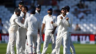 Live Cricket Streaming of India vs South Africa 3rd Test 2019 Day 4 on DD Sports, Hotstar and Star Sports: Watch Free Telecast and Live Score of IND vs SA Match on TV and Online