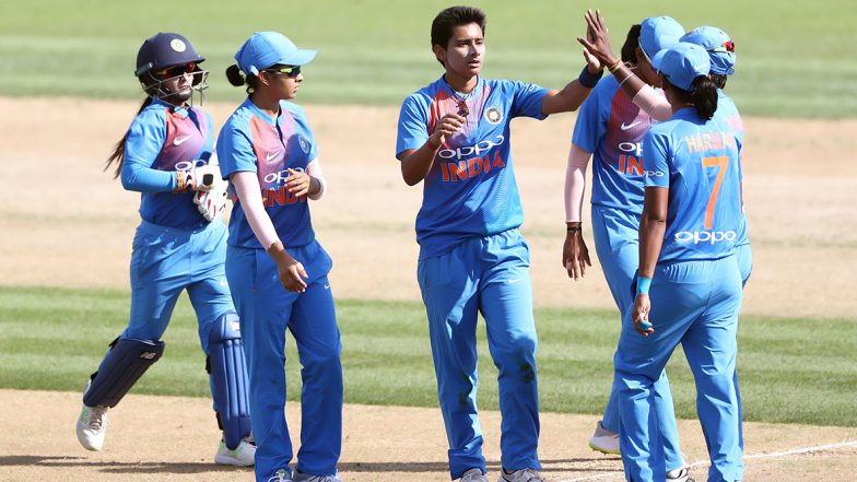 Live Cricket Streaming of India Women vs West Indies Women, 3rd T20I Match 2019: Get Online Telecast Details and YouTube Link of IND-W vs WI-W Twenty20 Clash